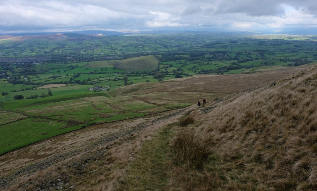 Penny & Andy Ascending Pendle Hill